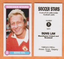 Manchester United Denis Law Scotland